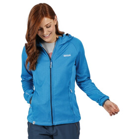 Regatta Helio Softshell Jas Dames, blue aster